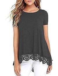 Mujer Rolling Stone M Camisetas es Camiseta Amazon wIaqRvxq8