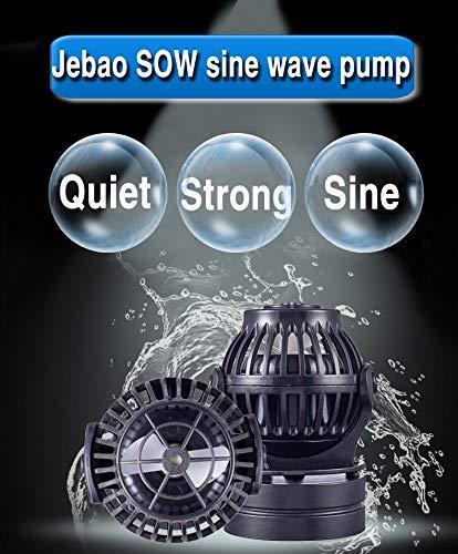 Jecod Jebao Sow-8 Aquarium Wavemaker mit Regler für Marine Riff Pumpe Aquarium Powerhead (Riff-aquarium-pumpen)