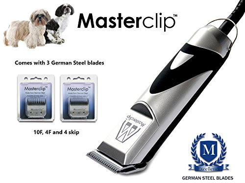 Masterclip Shih Tzu/Shihchon/Shihpoo Professional Dog Clippers Set Pet Grooming Clipper Trimmer Supplies 1