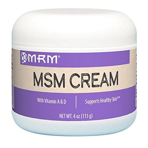 MRM, MSM Cream, Net Wt  4 Oz