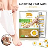 2 Pairs Foot Peeling Mask, Camomile Scented Exfoliating Callus Peel Booties, Baby Your Foot Naturally in 1 Week (Camomile) für 2 Pairs Foot Peeling Mask, Camomile Scented Exfoliating Callus Peel Booties, Baby Your Foot Naturally in 1 Week (Camomile)