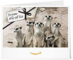 From All of Us - Printable Amazon.co.uk Gift Voucher