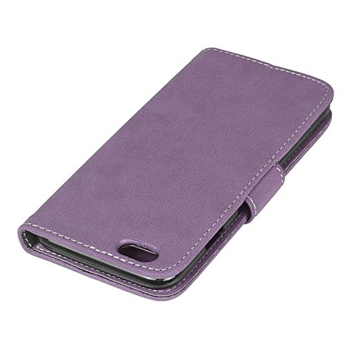 iPhone 6S / 6 (4,7 Zoll)Hülle, Cozy hut TPU Silikon Hybrid Handy Hülle Matte Series Case Durchsichtig Stoßfest Tasche Schutz Scratch-Resistant de protection Case Tasche Etui Shell für iPhone 6S / 6 (4 Lila scheuert
