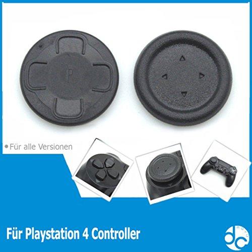 Flat D-PAD Button Cap für PS4 Controller - SCHWARZ