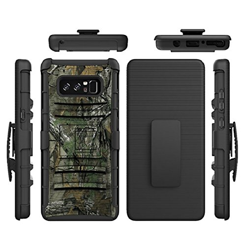TAITOU Galaxy S8Active Case, Awesome Armor Foldable Movie Stand Slim Cover,  New Sliding Sleeve Shield Belt Clip Thin Separable Drop Armour Protect