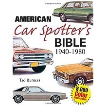 American Car Spotter's Bible 1940-1980