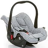 ABC Design 101297701Carseat Hazel Graphite Grey Kindersitz für Auto, Grau