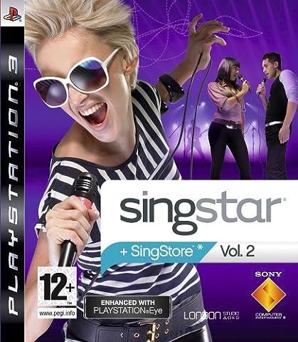 Ps3 Singstar - SingStar II (PS3) [import