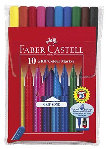 Faber Castell 38PACK-12-10 – Pack de 12 lápices + 12 rotuladores