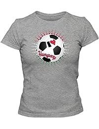 Ungarn EM 2016 #6 T-Shirt | Fußball | Damen | Trikot | Nemzeti Tizenegy | Nationalmannschaft © Shirt Happenz