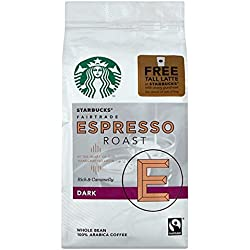 Starbucks Espresso Roast Beans Coffee (Dark) 250g