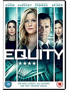 Equity [DVD] [2016]