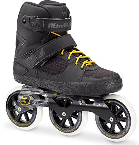 Preisvergleich Produktbild Rollerblade METROBLADE 110 3WD Inline Skate 2018 black/yellow, 46