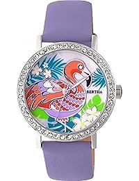 c30b8fd7e281 Bertha br7701 luna reloj de pulsera para mujer