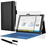Tablet-Tasche Schutz-Hüllle Microsoft Surface Pro 3 Case Display-Schutz-Folie