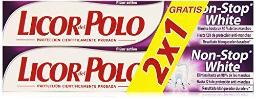 Licor del Polo Dentifricio, Non Stop White, 200 gr