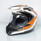 Casque intégral adulte Torx Darryl orange Taille XL Neuf quad moto enduro cross