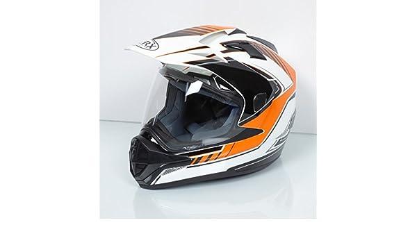 Torx Casque Intégral Adulte Darryl Orange Taille Xl Neuf Quad Moto