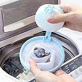 Aeromdale Mesh Filter–Entfernung Haar Gerät Magic Floating Waschen Wäschesack–Wiederverwendbar Wäschesack–Mesh Wäsche Ball–zufällige Farbe