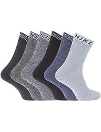 12 Pairs Mens Cotton Rich BIG FOOT Sport Socks Work Socks Shoe Size 11-13 1/2 - EU 46/48