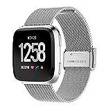 Sunnymi Smart Watch Homme Mode multifonctionnel en acier inoxydable Sangle électronique montres, extérieur, montres, cyclisme, montres de sport GPS pratique, Silver