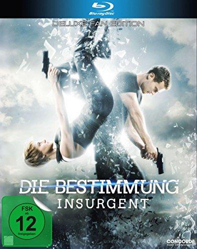 Die Bestimmung - Insurgent [Deluxe Fan Edition] [Blu-ray] (3in Reihe Einer)