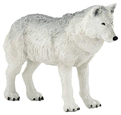 Papo Toys 2050195 - Polar Wolf Figure (Plastic)