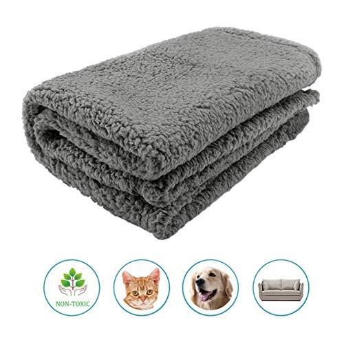 Blue-Yan Kissen für Haustiere, Dickes und weiches Tuch, für Haustiere, faltbar, maschinenwaschbar, für Hund und Katze, Haustier 75 * 100cm - (Schuppen Outdoor Hund)