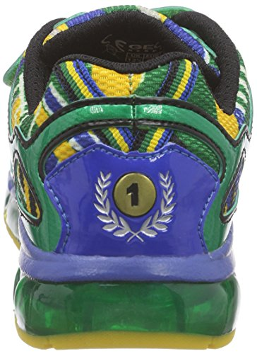 Geox J ANDROID BOY A Jungen Sneakers Mehrfarbig (GREEN/MULTICOLORC3Q0G)