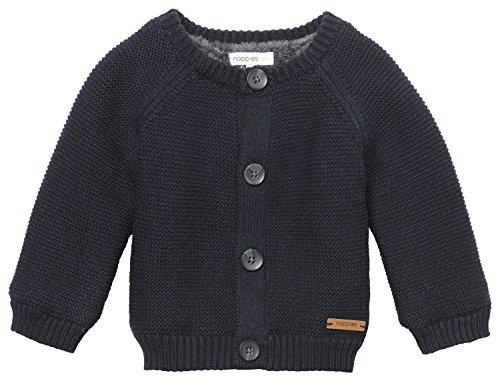 Noppies Unisex Baby Strickjacke U Cardigan Knit Aspen, Beige (Navy Melange C167), 62