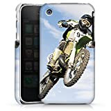 DeinDesign Apple iPhone 3Gs Housse étui coque protection Motocross Moto Sport Mécanique