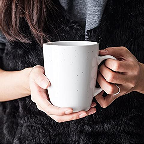 La taza de café de cerámica creativa Continental oficina tazón de agua de gran capacidad tazas mug portavasos de