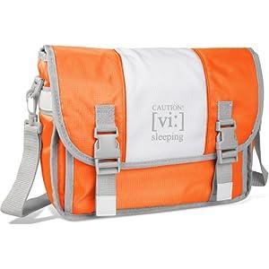 Speedlink Travel Bag Tragetasche für Nintendo Wii Konsole (Außenmaße (BxHxT) in cm: 34x24x14) orange