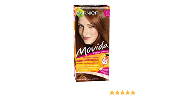 Garnier Movida Haarfarbe Intensiv-Tönung, 26 Goldbraun: Amazon.de ...