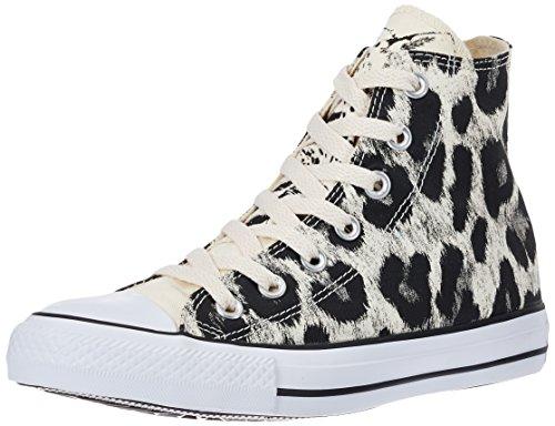 Converse All Star Hi, Sneaker Donna Bianco/Nero