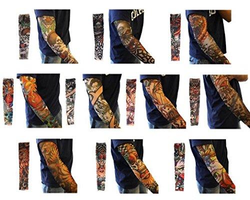 eqlef-10pcs-geflschte-temporre-ttowierung-hlsen-krper-kunst-arm-strumpf-zubehr-designs-tribal-drache