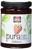 Schwartau pura Erdbeere, Fruchtaufstrich zu 100% aus Früchten, 8er Pack (8 x 200 g Glas)