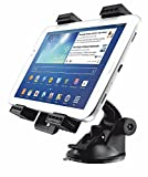 KFZ-Halterung für Tablet Universal verstellbar verschiedene Größen, ermöglicht eine schnelle und sichere Montage für ipad 2/3/4, iPad Air, iPad Mini, Galaxy Tab/Tab S/Note Pro, Nexus 7, Kindle Fire HD 6/7 Fire HDX 7/8 9 Fire 2 und Tablets.