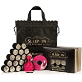 Gifts and Sets by Sleep-In Rollers Black and Gold Glitter Sleep In Rollers Gift Set