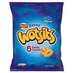Walkers Baked Wotsits 6 Really Cheesy...