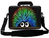Sidorenko 15-15,6 Zoll Laptoptasche | Laptop Umhängetasche: Stilvolle - Notebook-Schultertasche aus Neopren Schmutz- und Wasserabweisend | Notebook-Tasche mit Außentasche für Zubehör