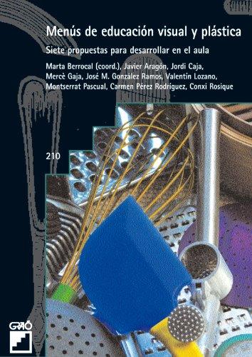 Menús de educación visual y plástica: 210 (Grao - Castellano)