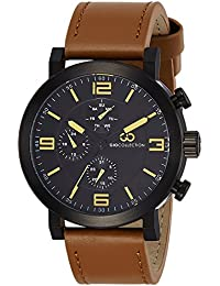 Gio Collection Analog Black Dial Men's Watch-G1012-09