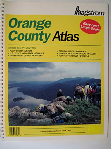 Hagstrom Orange County Atlas New York -