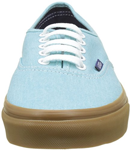 Blau washed Canvas Authentic Vans Sneakers Herren Ua qR7a6v