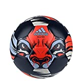 adidas Futsal Ball Freefootball Sala, Top:Collegiate Navy/Solar Red/Clear Sky/White Bottom:Silver Met., 4, S15436