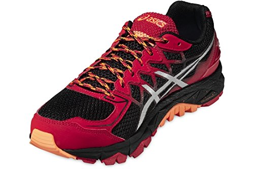 Asics Gel-fujitrabuco 4, Chaussures de Running Compétition homme Rouge
