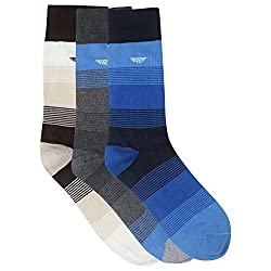 Red Tape Mens Cotton Athletic Socks (RSX261_Multicoloured_one size)