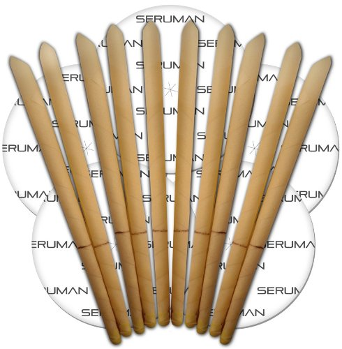 organic-seruman-therapeutics-beeswax-ear-candles-5-pairs-with-protector-discs-therapeutic-grade