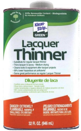 klean-strip-green-qkgl75009-lacquer-thinner-1-quart-by-klean-strip-green